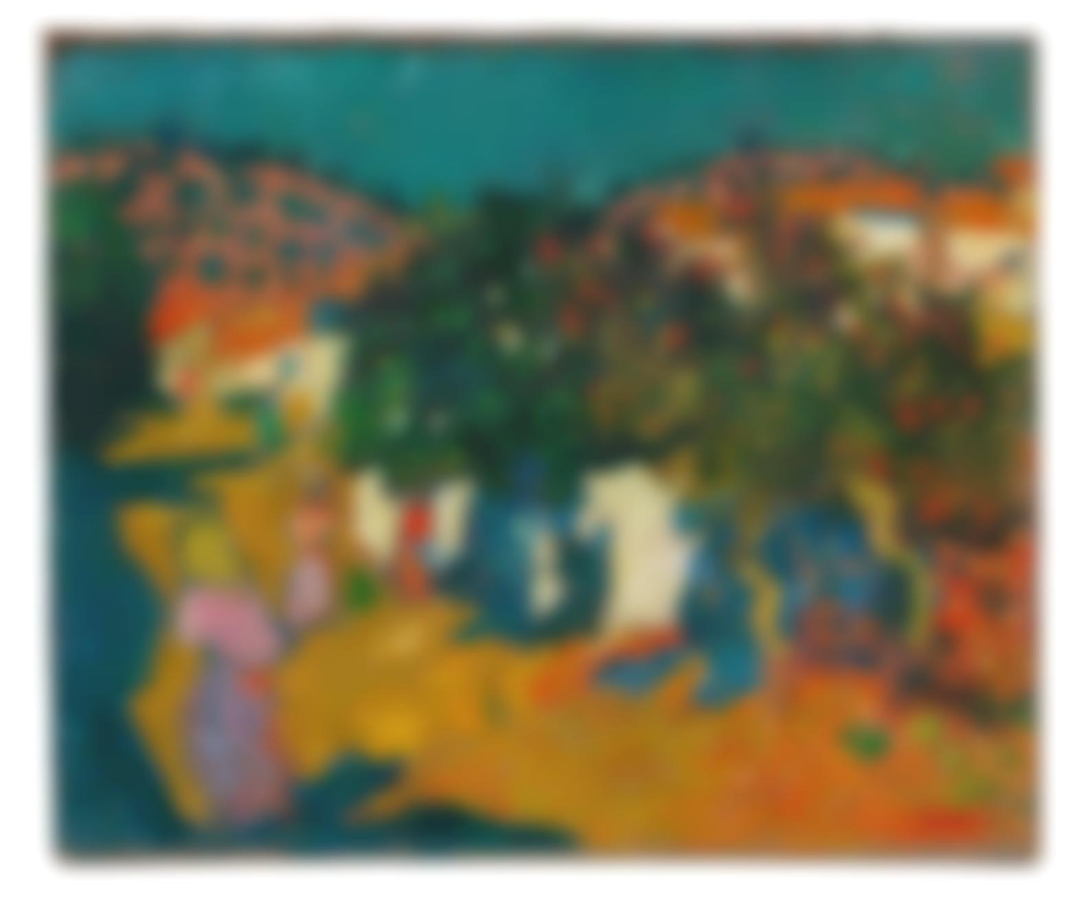 Louis Valtat-Rue Du Village, Espagne-1894
