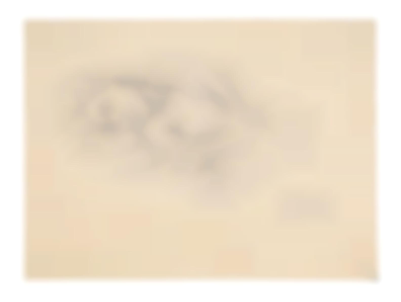 Balthus-Etude Pour Jeune Fille Endormie (Portrait De Jeannette)-1943