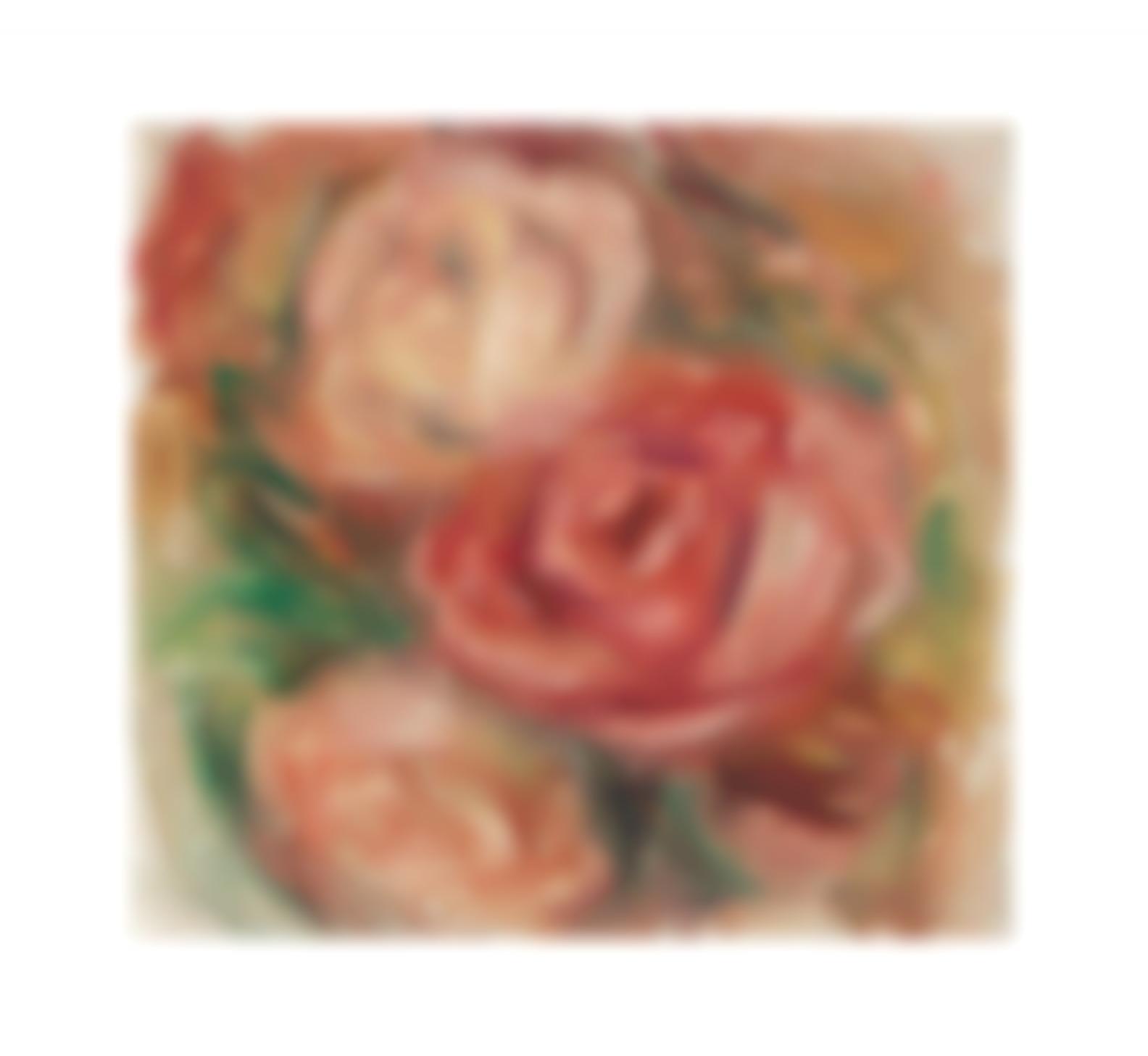 Pierre-Auguste Renoir-Trois Roses-1919