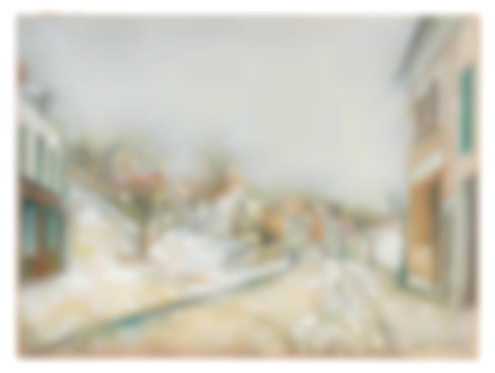 Maurice Utrillo-Vue De Pontoise-1913