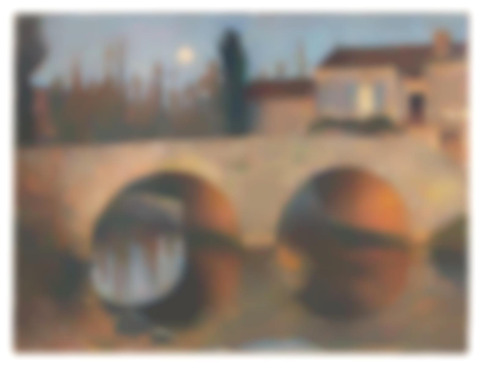 Henri Martin-Pont De Labastide Du Vert Au Clair De Lune-