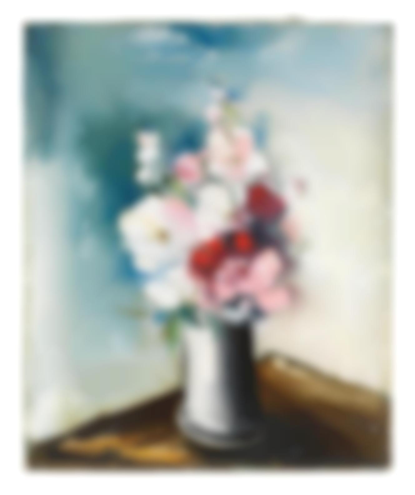 Maurice de Vlaminck-Nature Morte Aux Fleurs-
