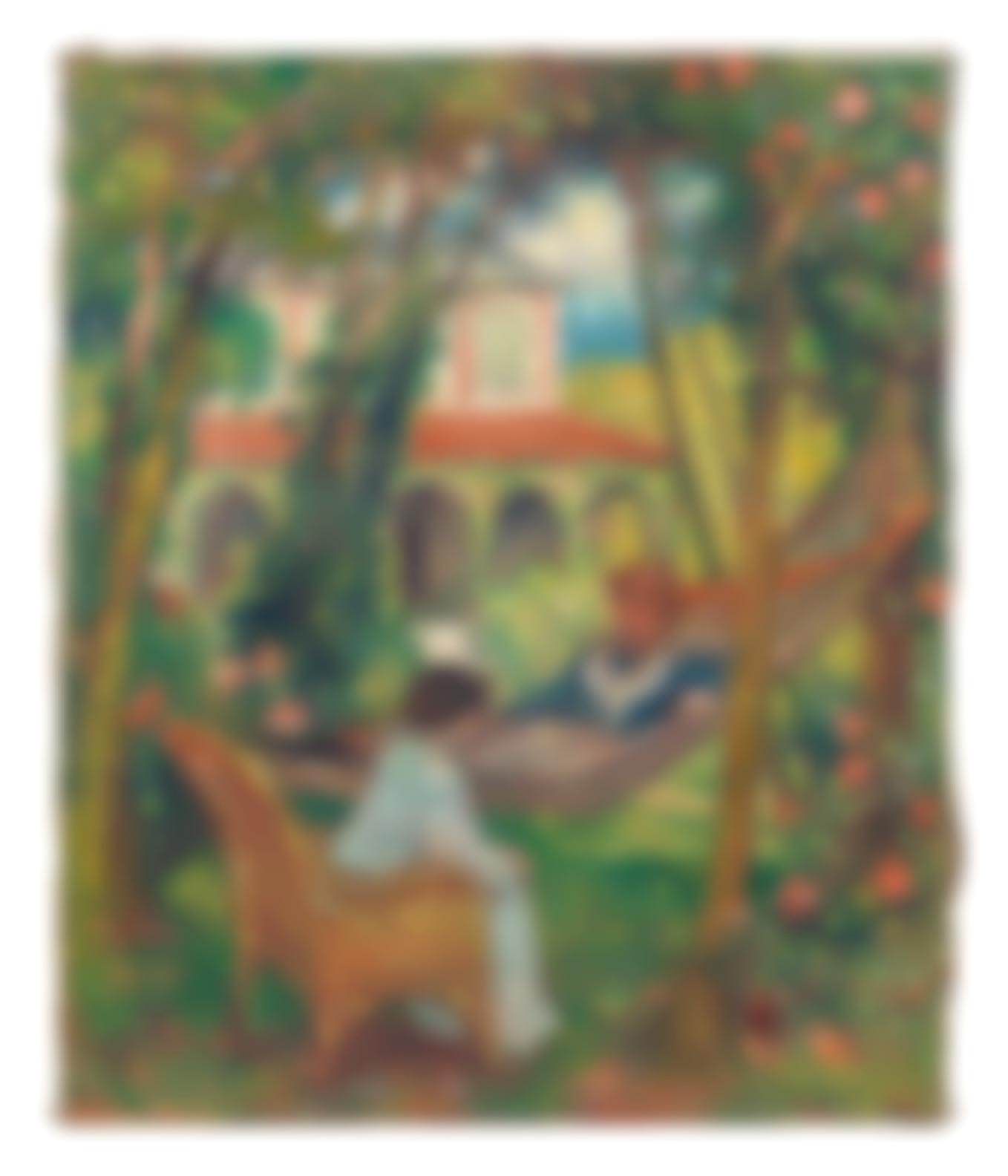 Georges D'Espagnat - Le Hamac-1906