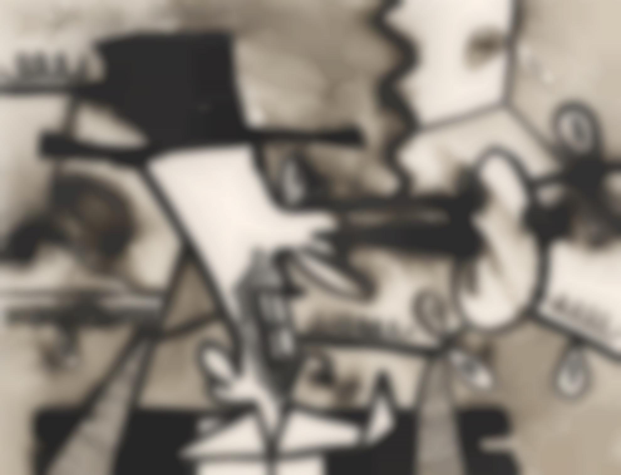 Carroll Dunham-Untitled (3.24.01, 3.26.01)-2001