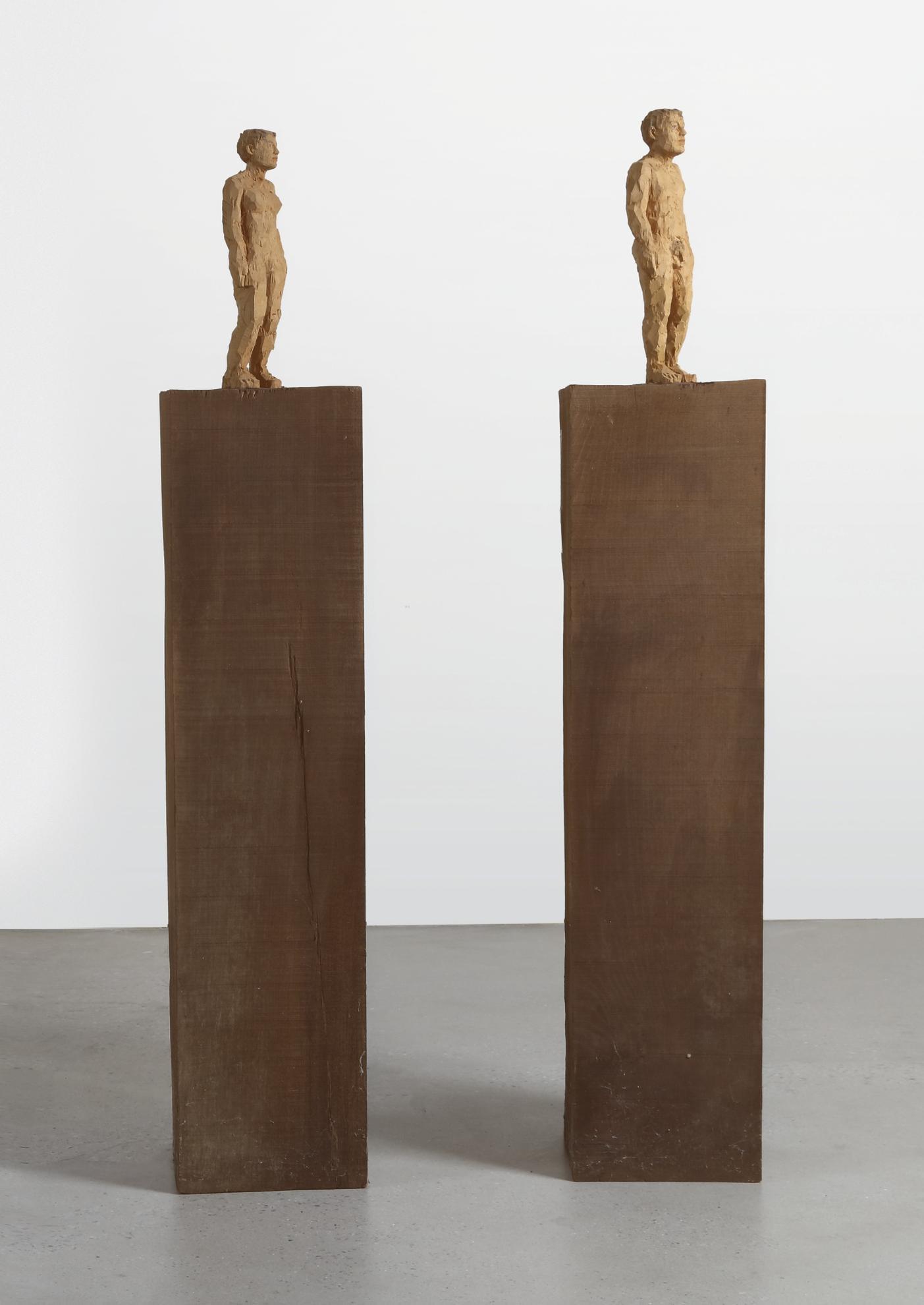Stephen Balkenhol - Man And Woman-1990