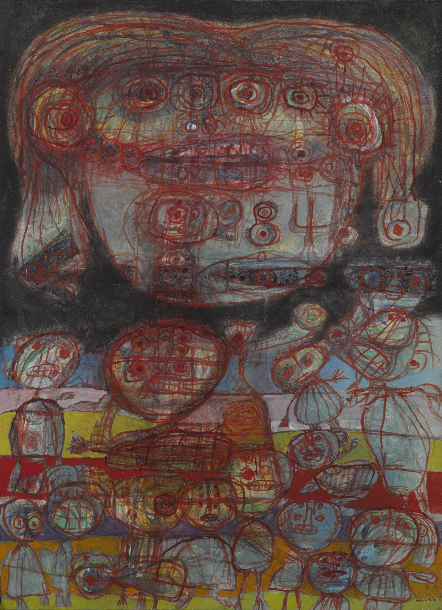 Akira Kito - Hundertwasser Et Youko-1965