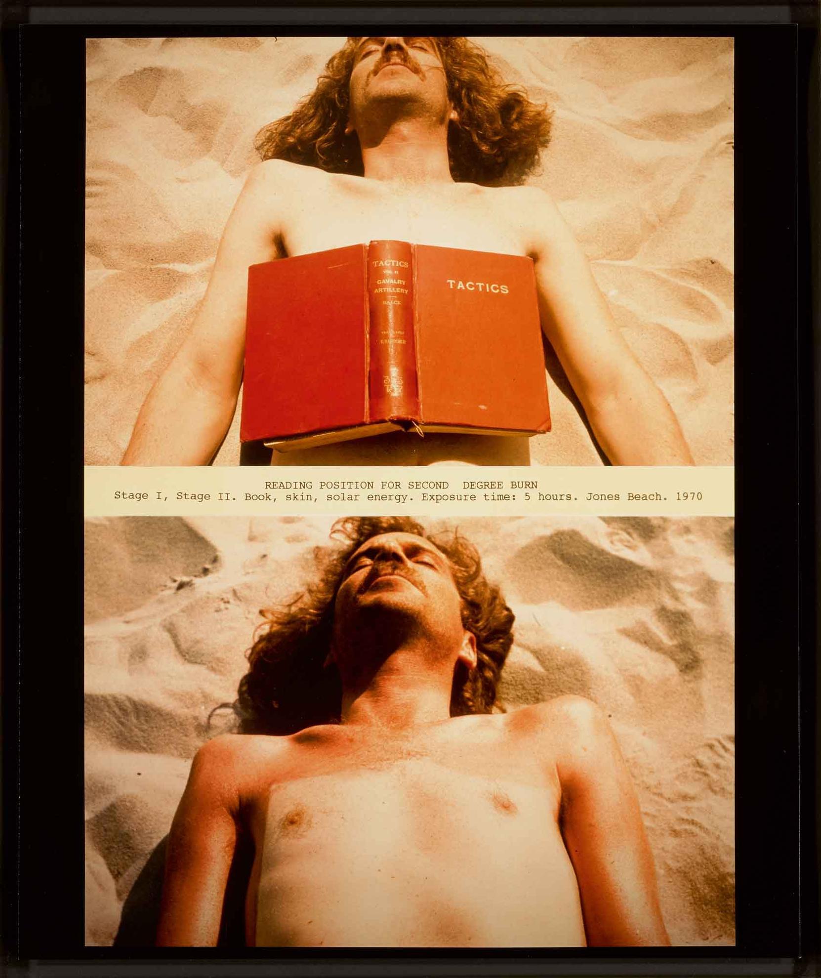 Dennis Oppenheim-Reading Position For Second Degree Burn-1970