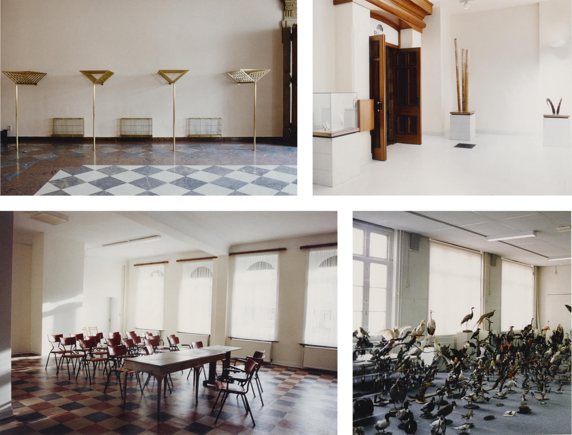 Candida Hofer-Les Heures Claires Spa I; Natural History Museum London Vi; Schloss Mirabell Salzburg Iv; And Naturkundemuseum Tilburg Iii [Four Works]-1996