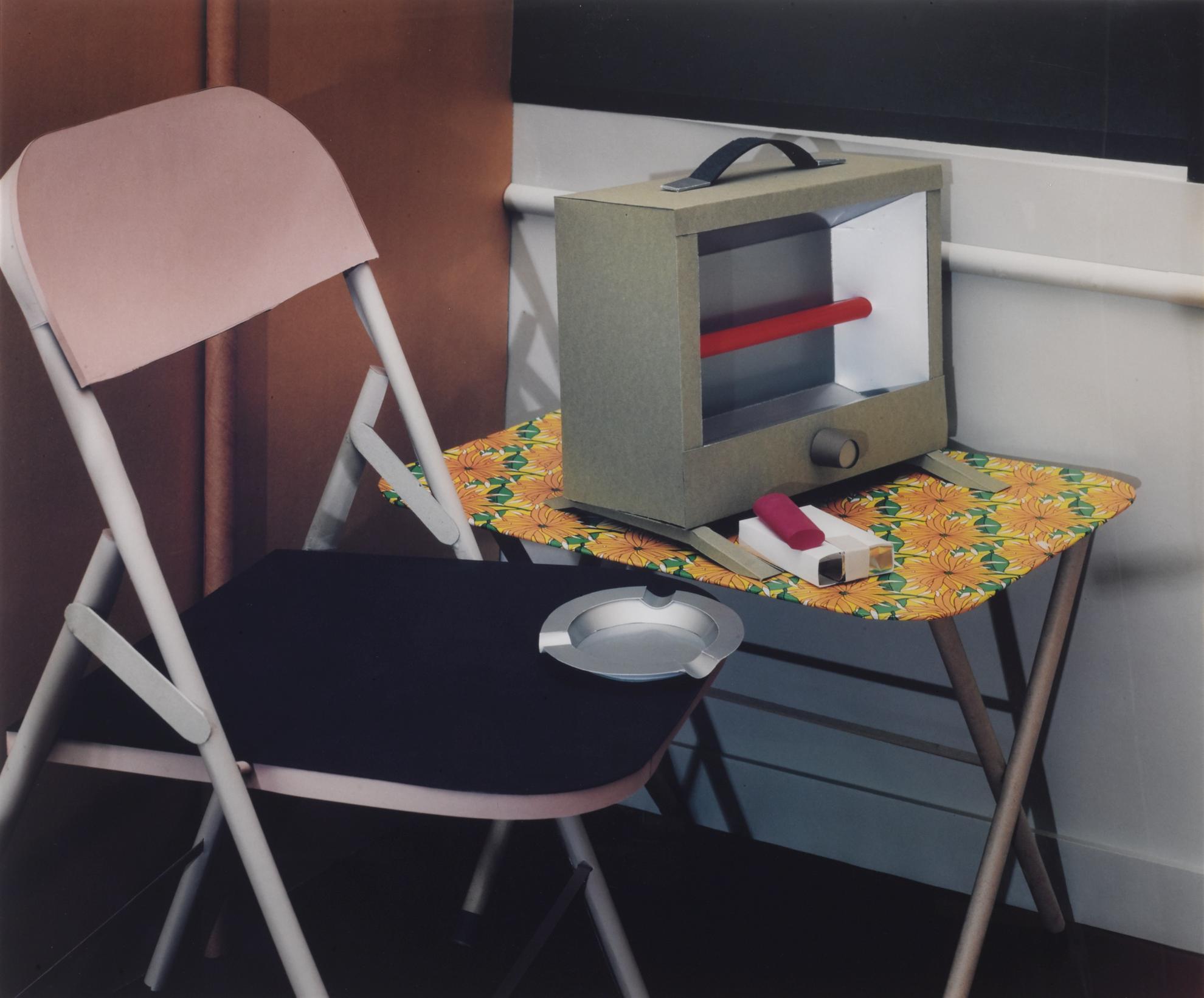 Thomas Demand-Detail V (Salon)-1997