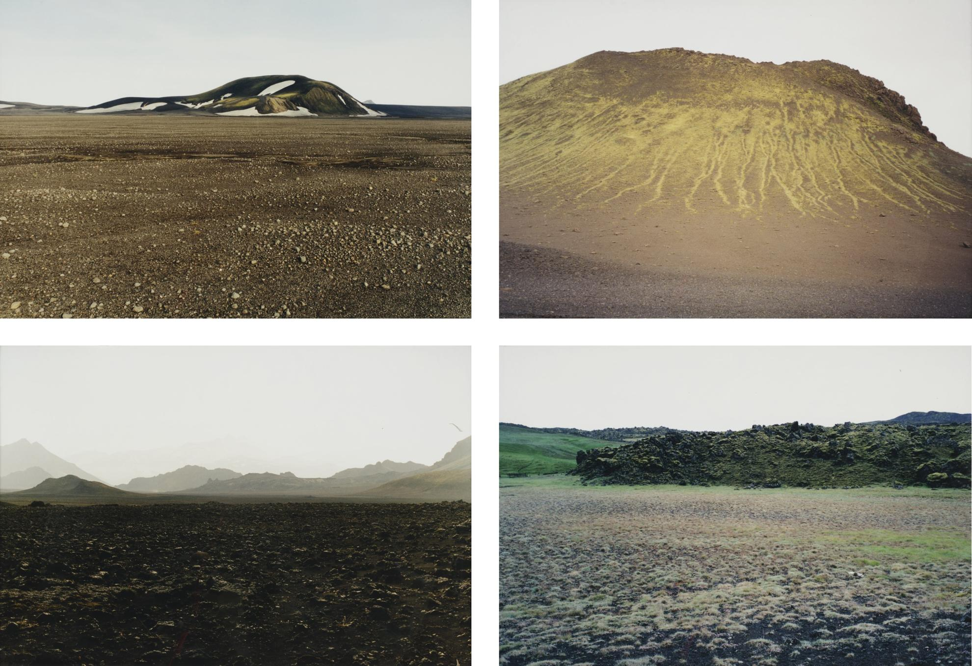 Olafur Eliasson-Untitled (From The Iceland Series) [Four Works]-2000