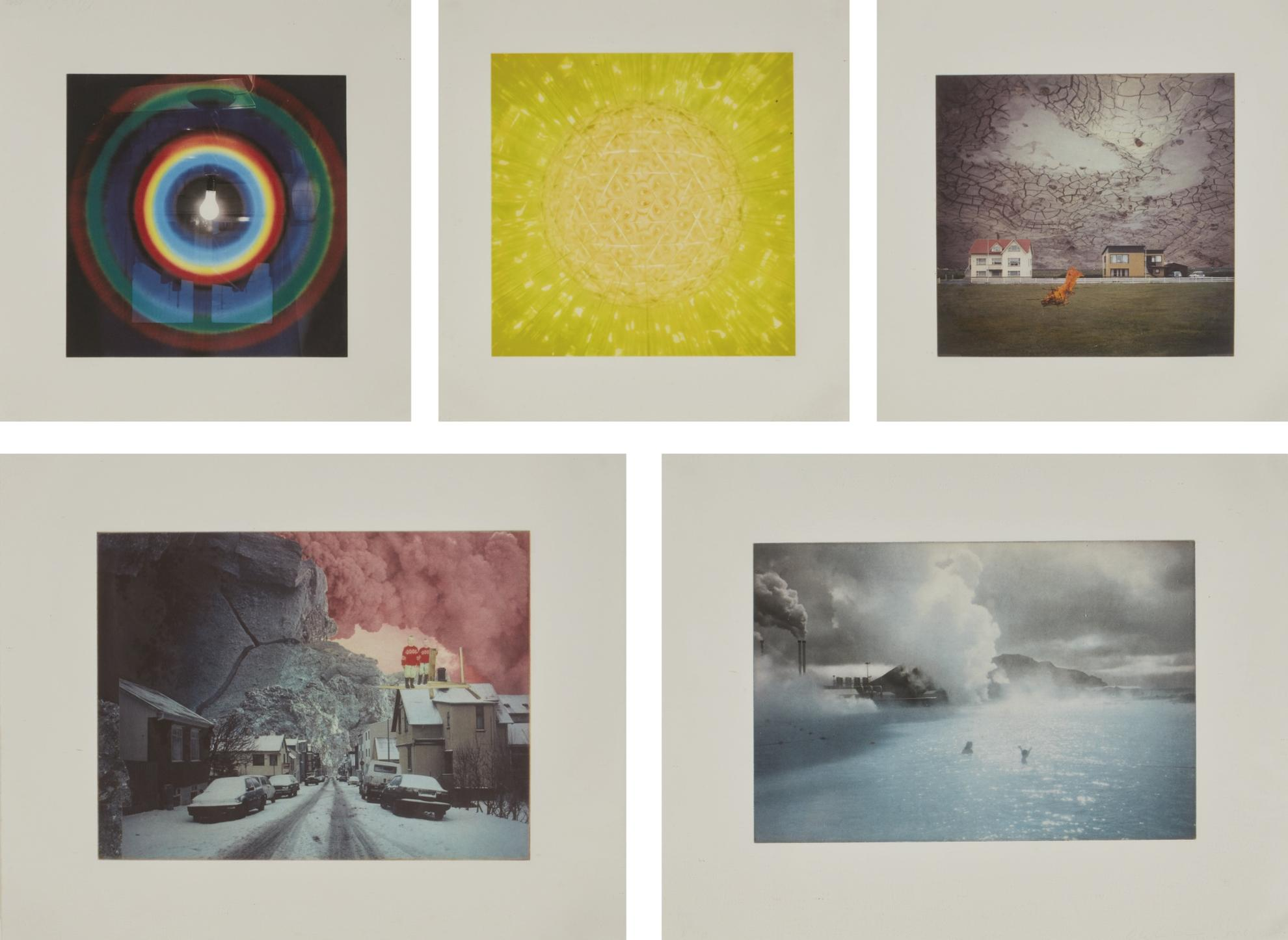 Olafur Eliasson-Untitled [Five Works]-1996