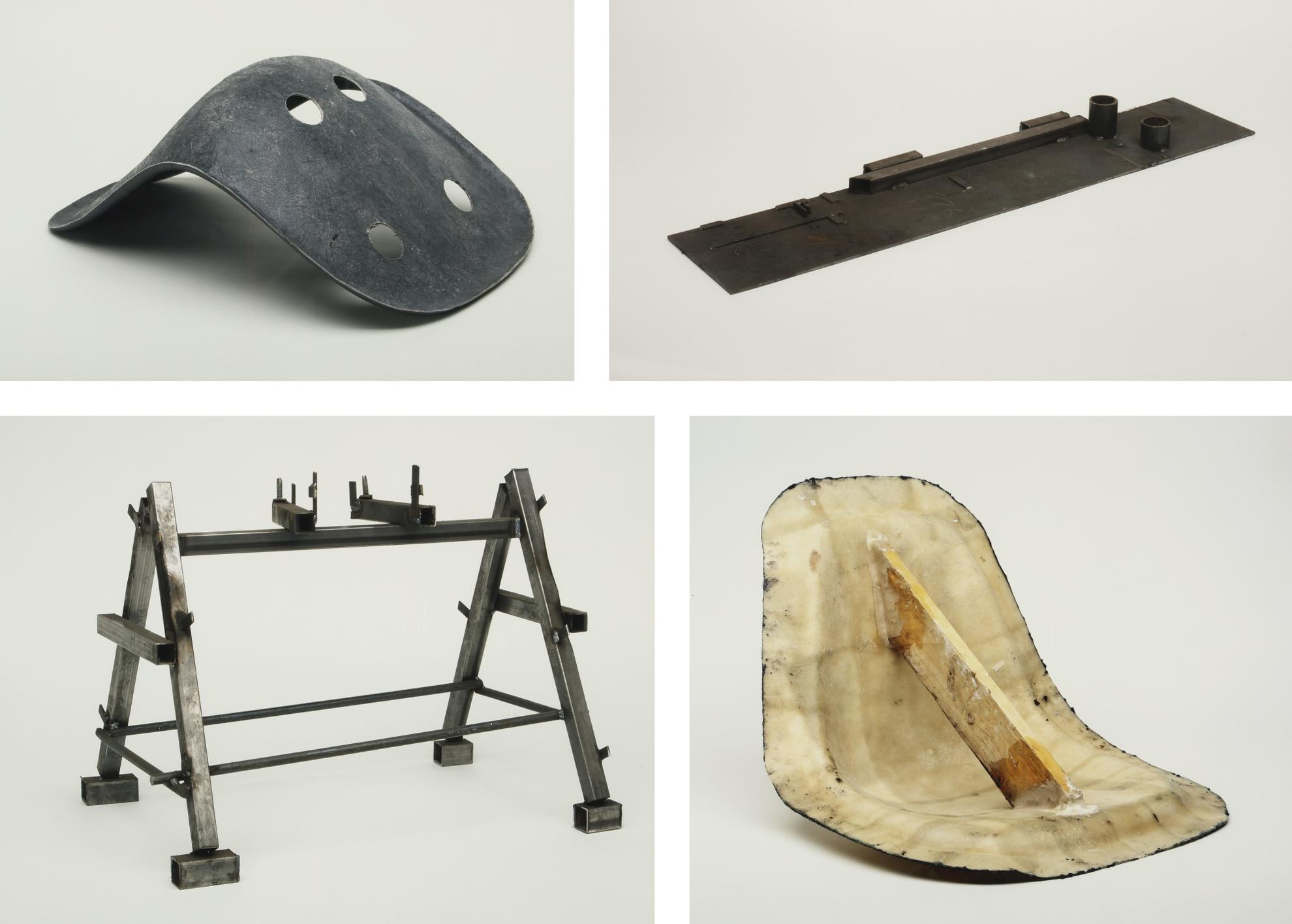 Simon Starling-Home-Made Eames (Formers, Jigs And Molds)-2002