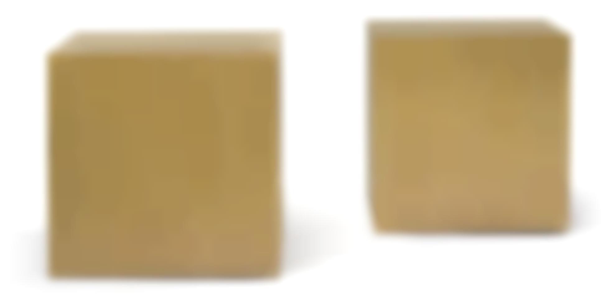 Scott Burton1939 - 1989 - A Unique Pair Of Cubes-1980