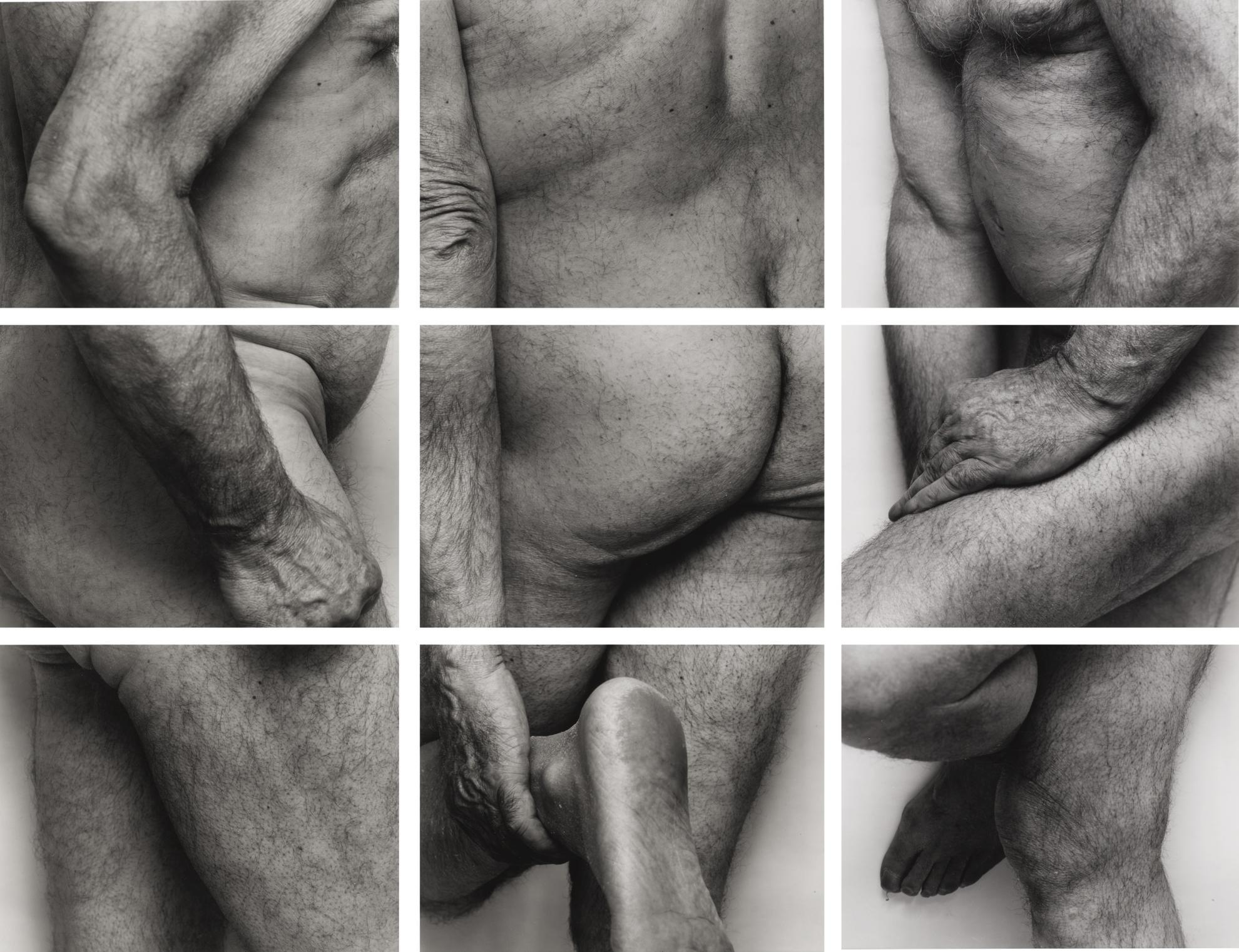 John Coplans-Self-Portrait, Frieze No. 4, 3 Panels-1994
