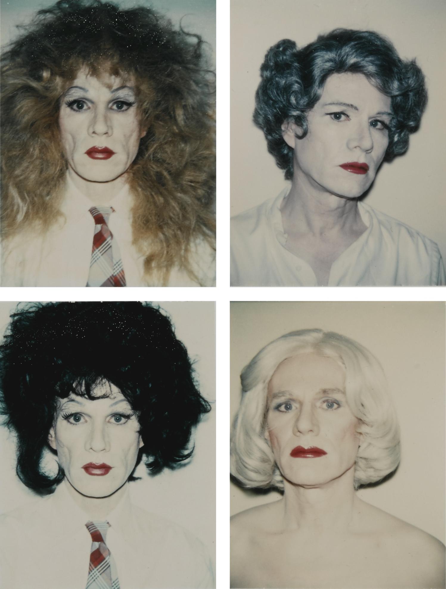 Andy Warhol-Self Portrait In Drag [I-IV]-1982
