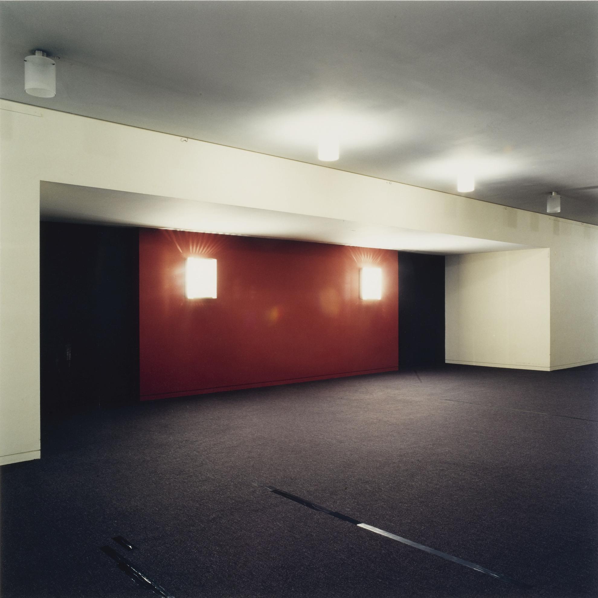 Candida Hofer-Festspielhausen Recklinghausen VII-1997