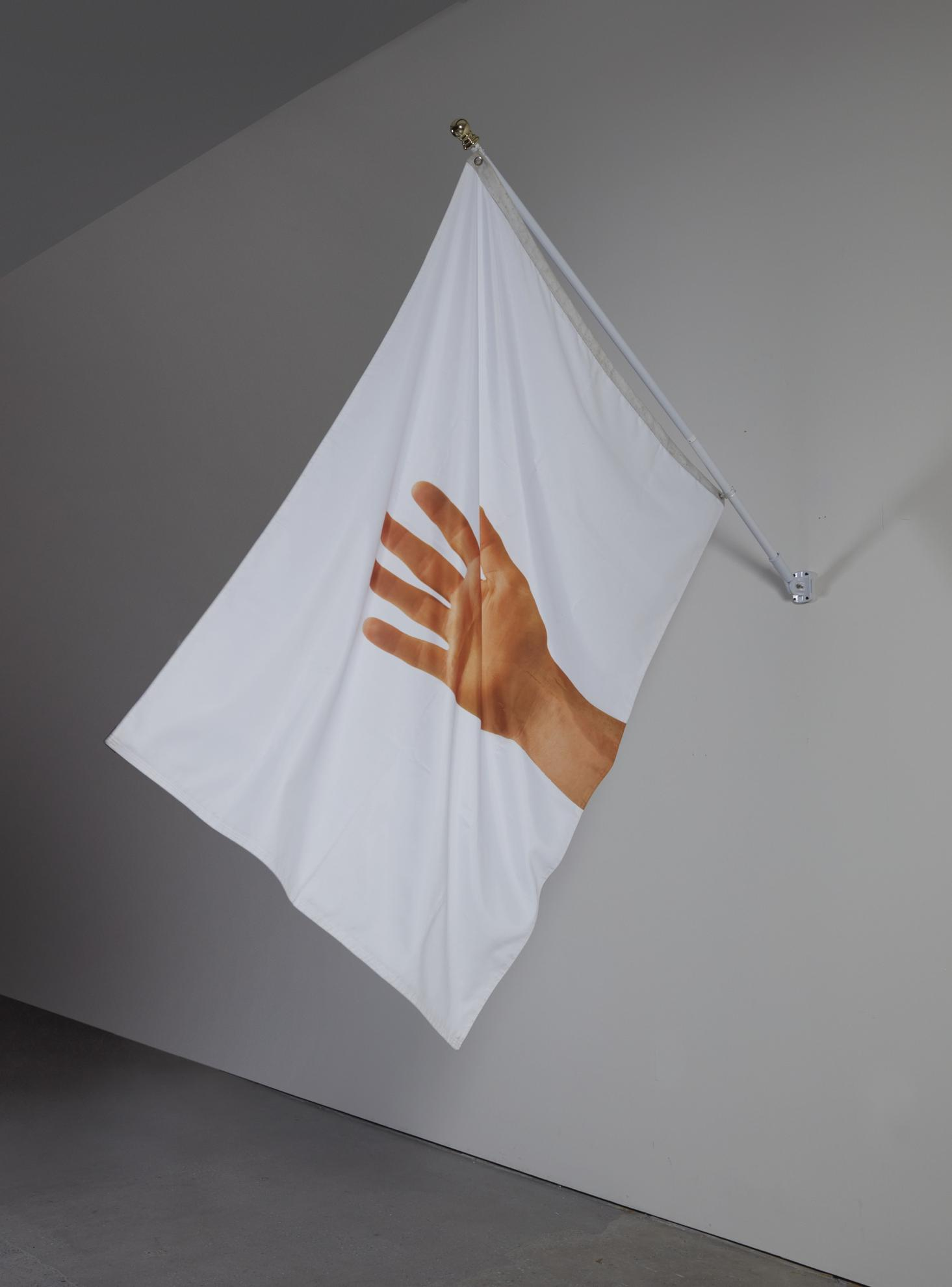 Peter Coffin-Untitled (Hand Waving To The Wind/Dream Recall)-2007