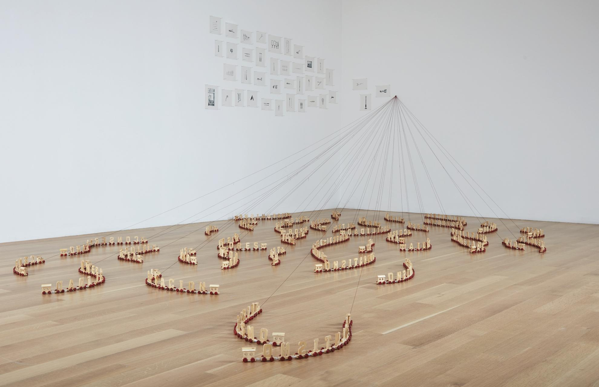 Carlos Garaicoa-La Habitaticion De Mi Negatividad (The Room Of My Negativity)-2003