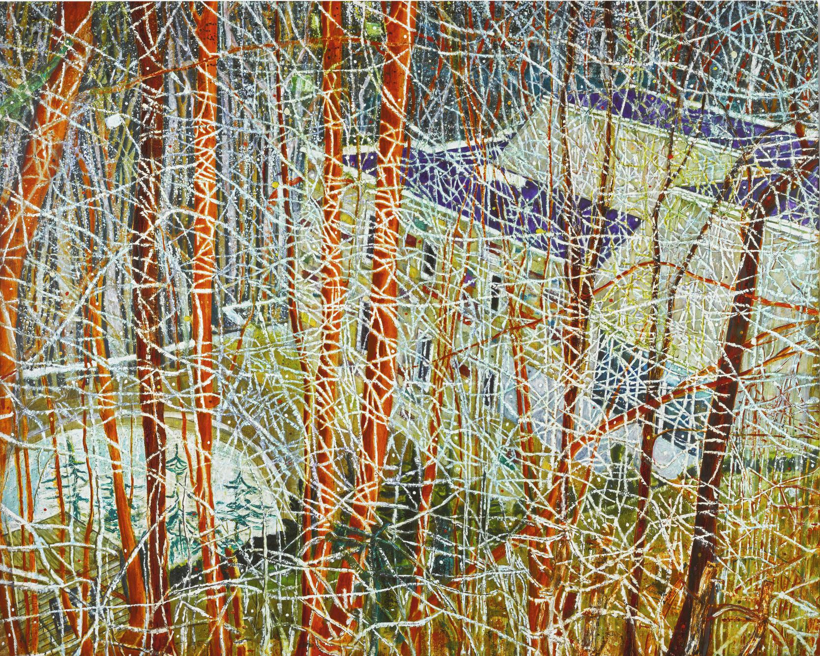 Peter Doig-The Architects Home In The Ravine-1991