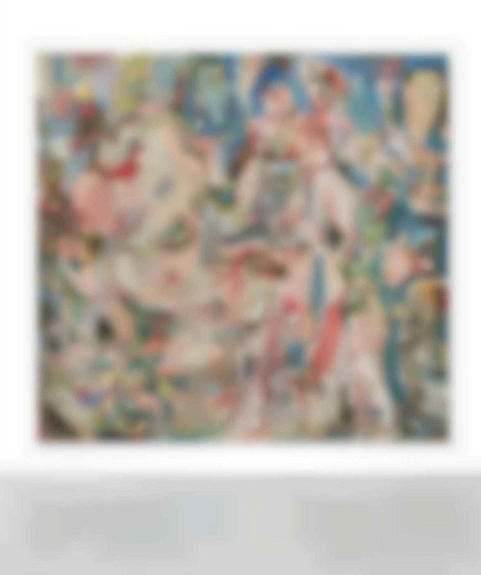 Cecily Brown-A Swan Comforting A Snake-2014