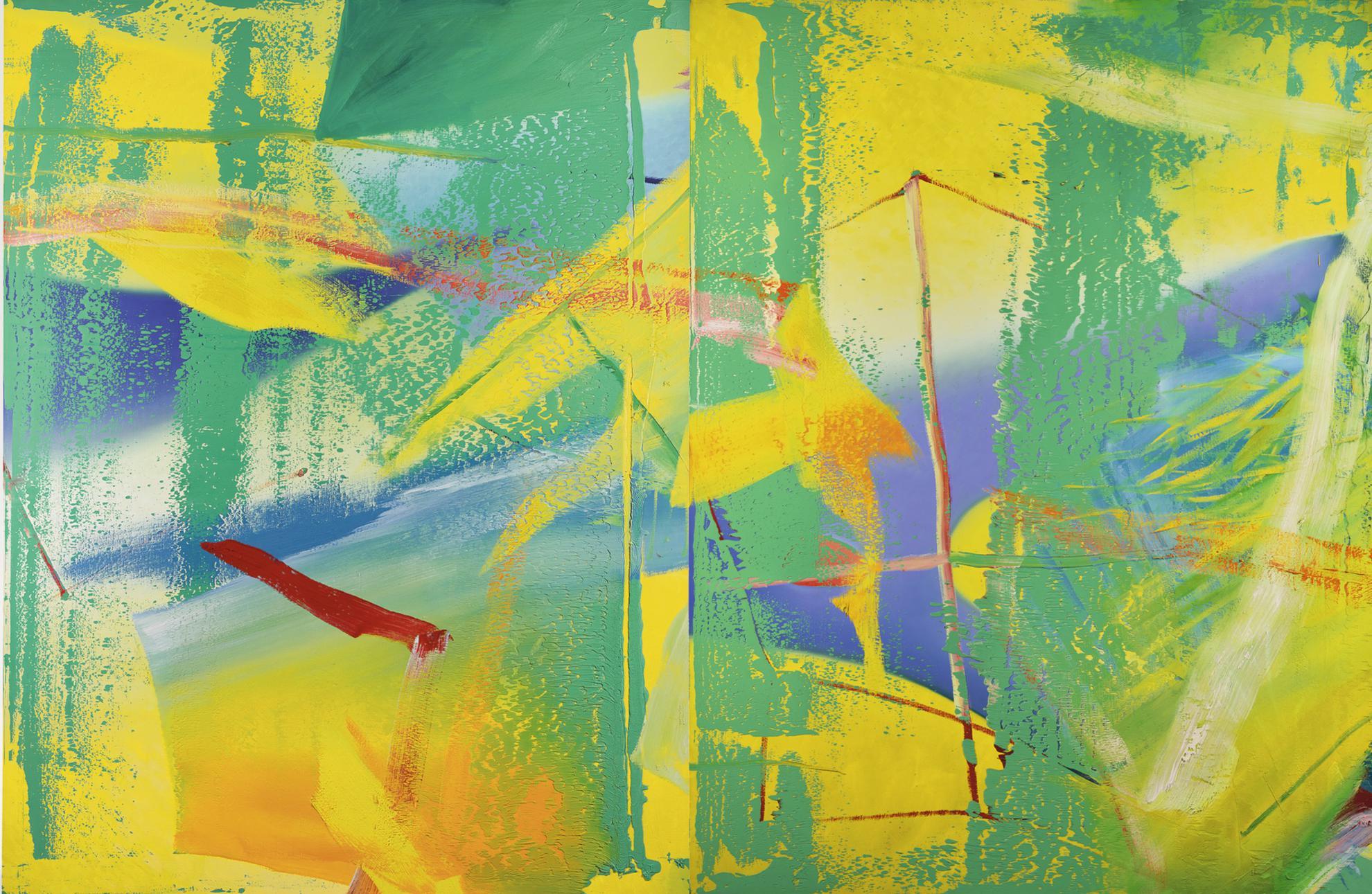 Gerhard Richter-Gelbgrun (Yellow-Green)-1982