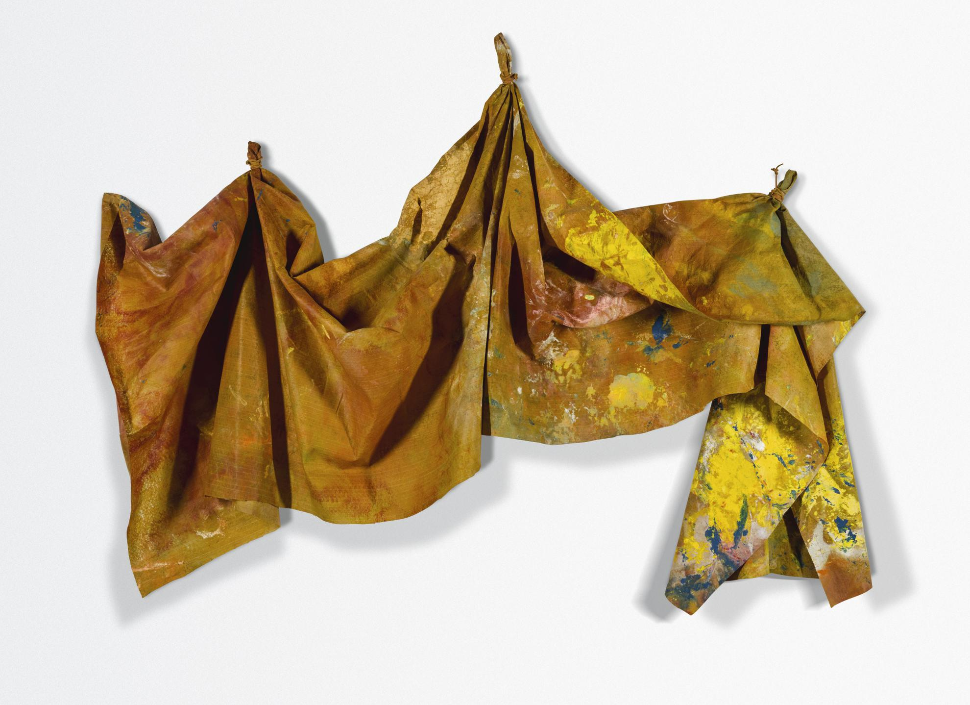 Sam Gilliam-After Micro W #2-1982