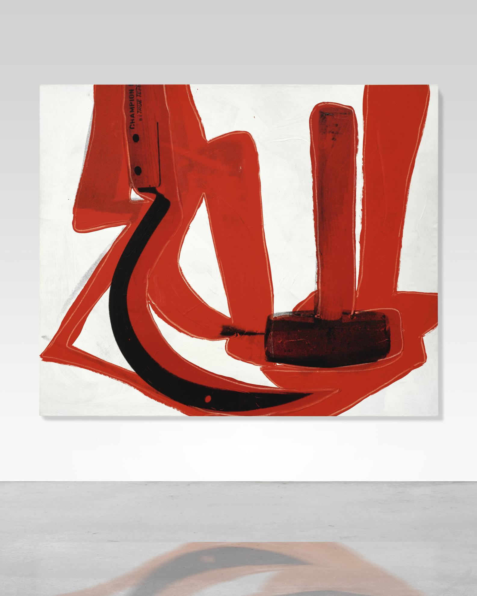 Andy Warhol-Hammer And Sickle-1976