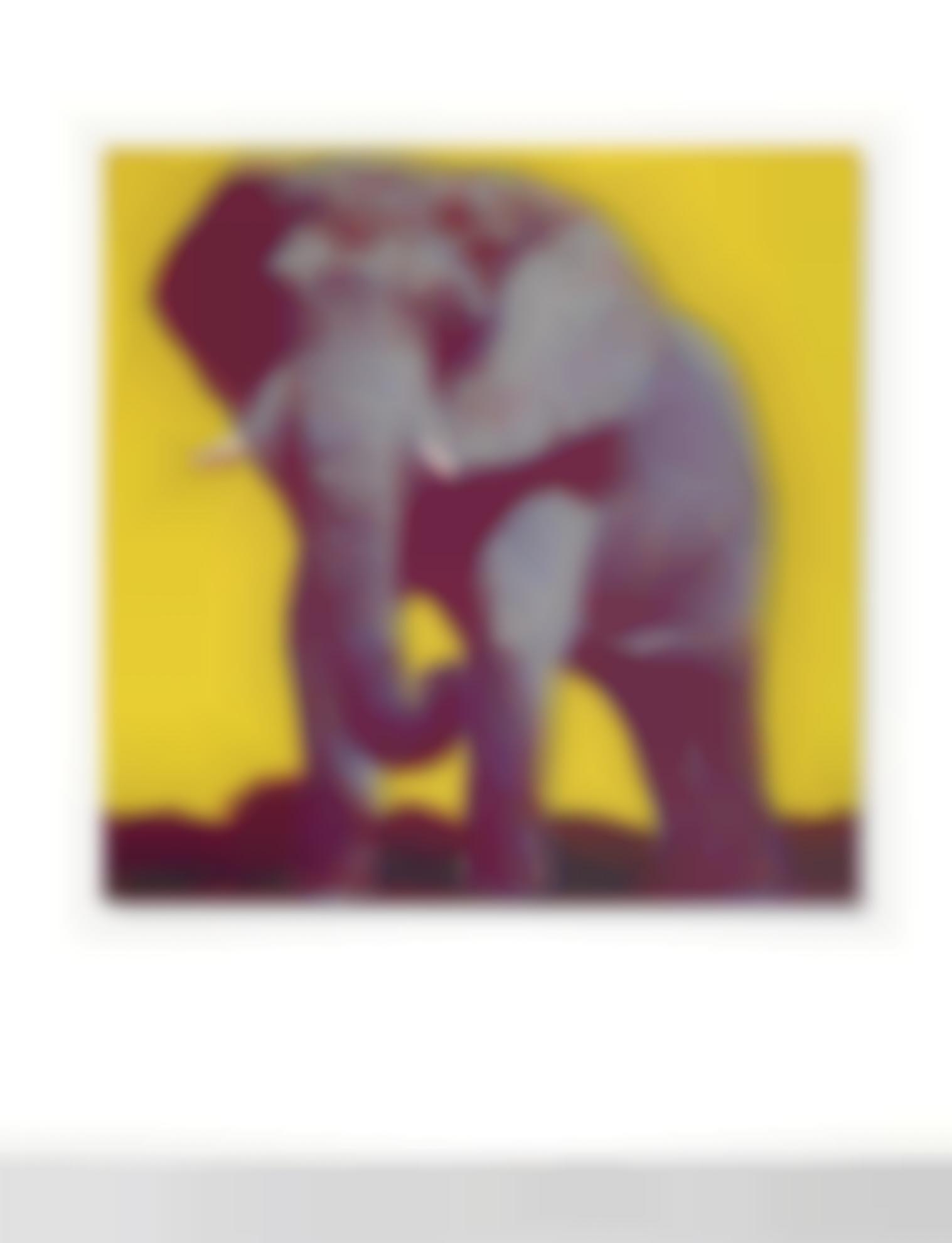 Andy Warhol-African Elephant-1983