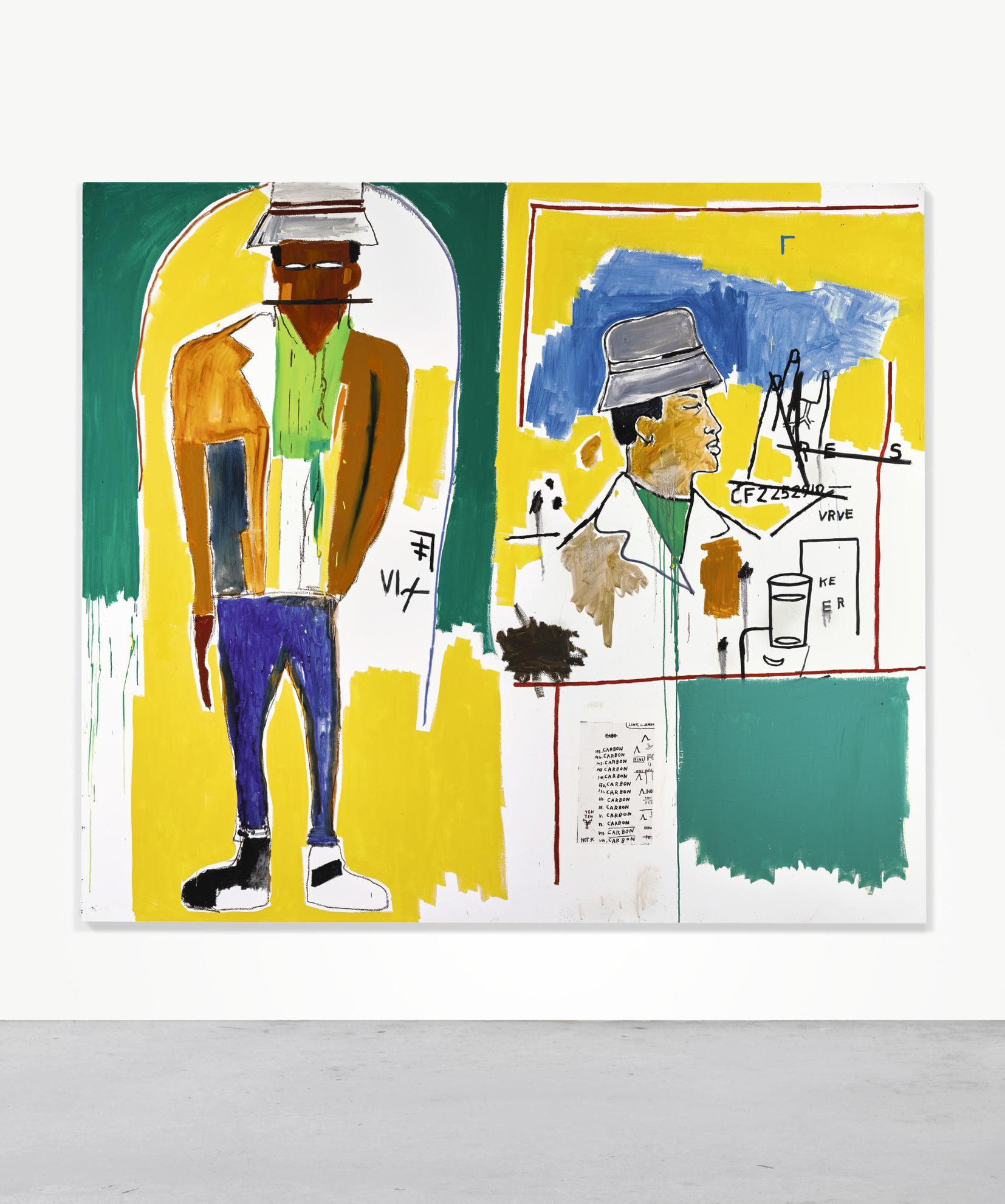 Jean-Michel Basquiat-Ero-1984