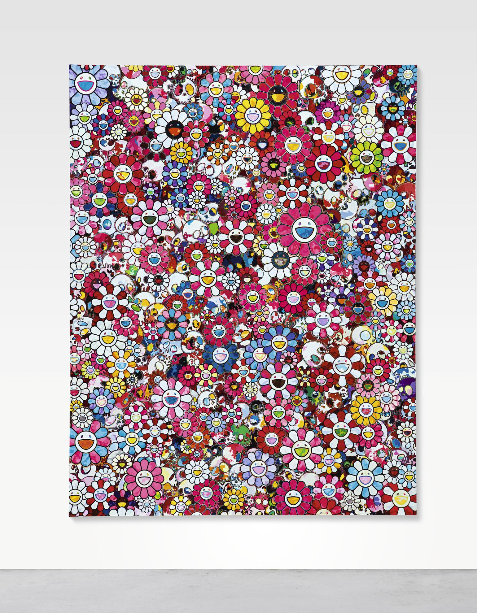 Takashi Murakami-Pink Circus: Embrace Peace And Darkness Within Thy Heart-2013