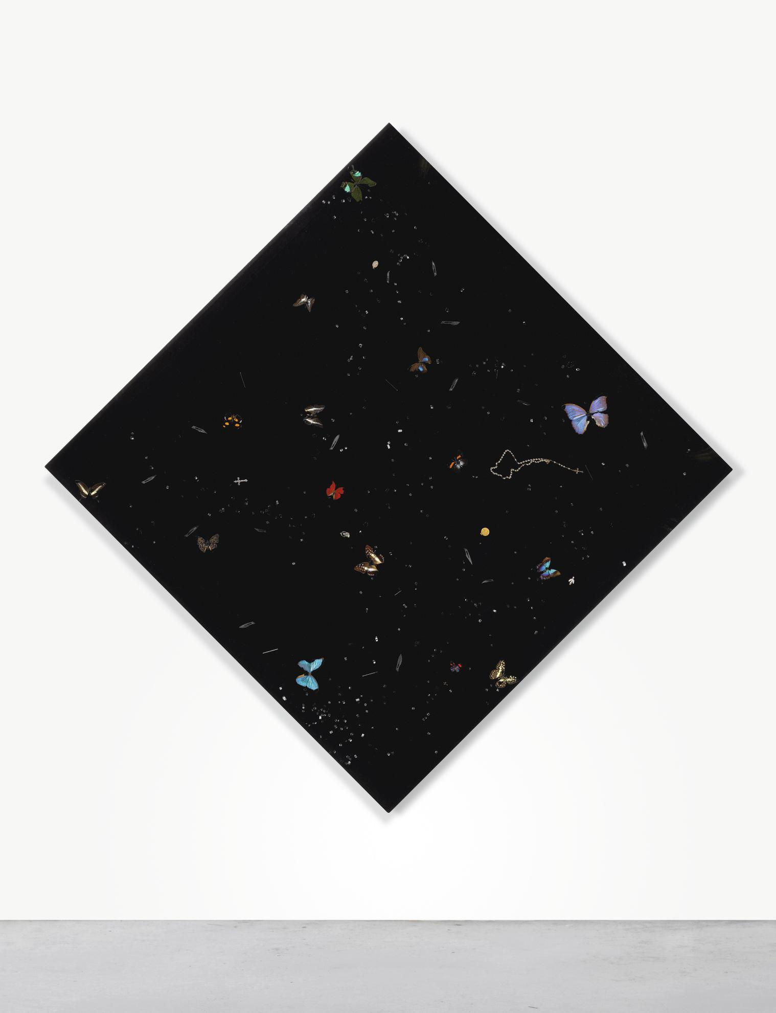 Damien Hirst-Sometimes Life Is Really, Really, Really Dark-2008