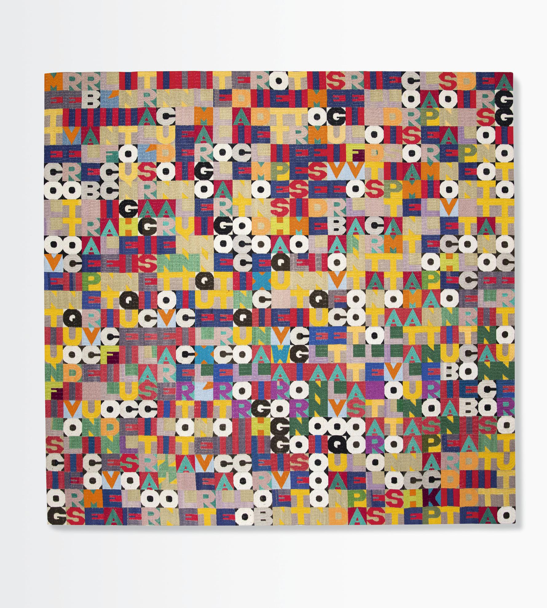 Alighiero Boetti-Untitled (July 23, 1988)-1988