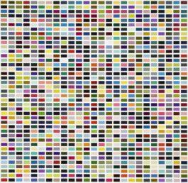 Gerhard Richter-1025 Farben-1974