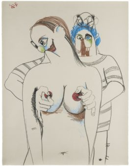 George Condo-Double Figure Composition-2006