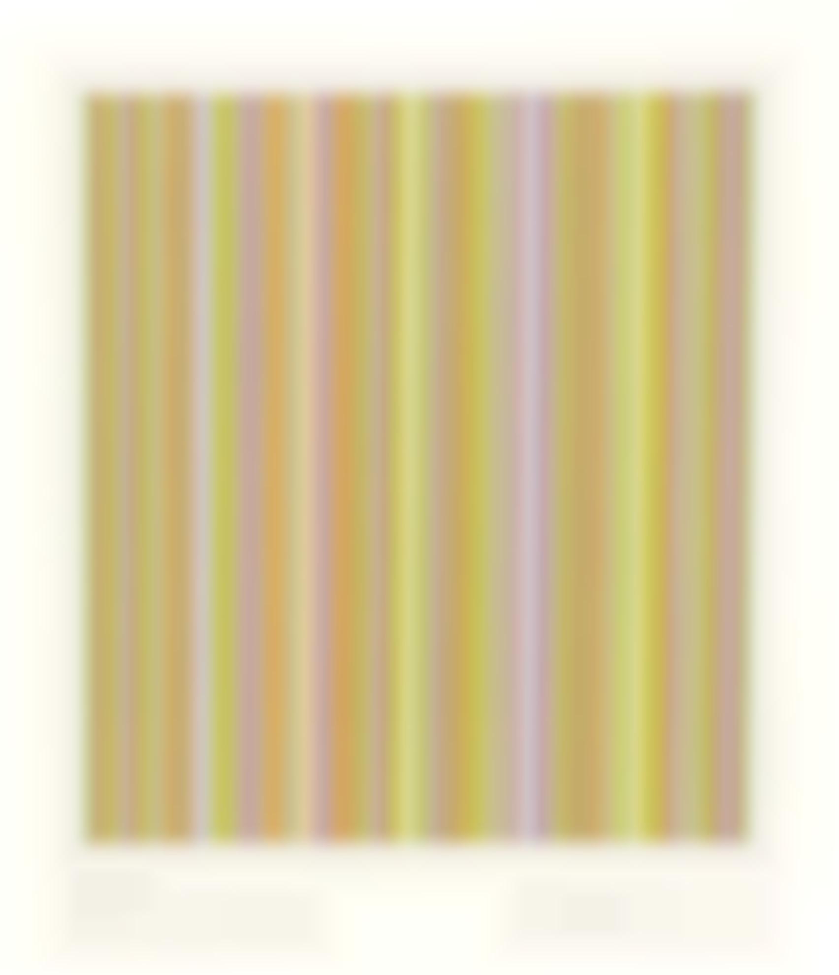 Bridget Riley-Ygbr. Four Colours, Visual Violet-1983