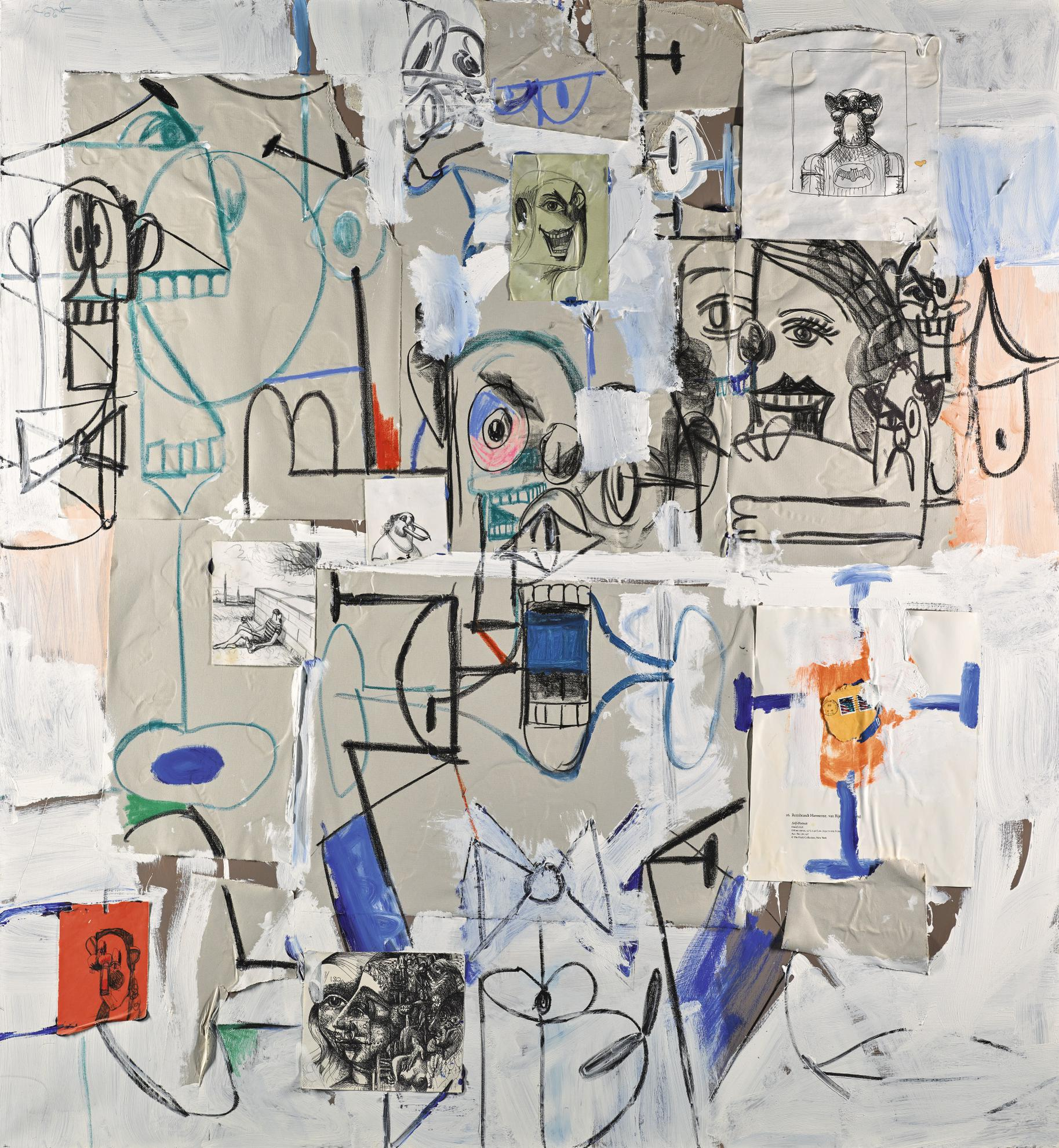 George Condo-The Life Of Jean Louis-2006