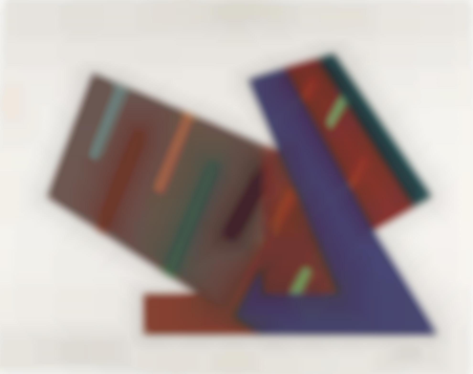 Frank Stella-Mogielnica (Sketch)-1973