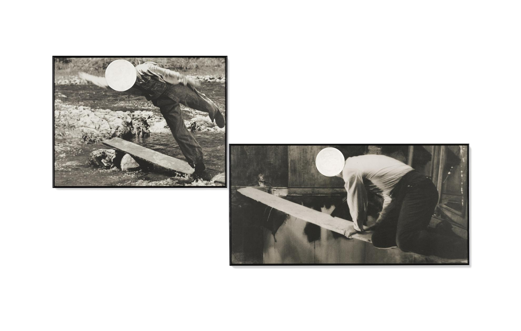 John Baldessari-Walking The Plank-1988