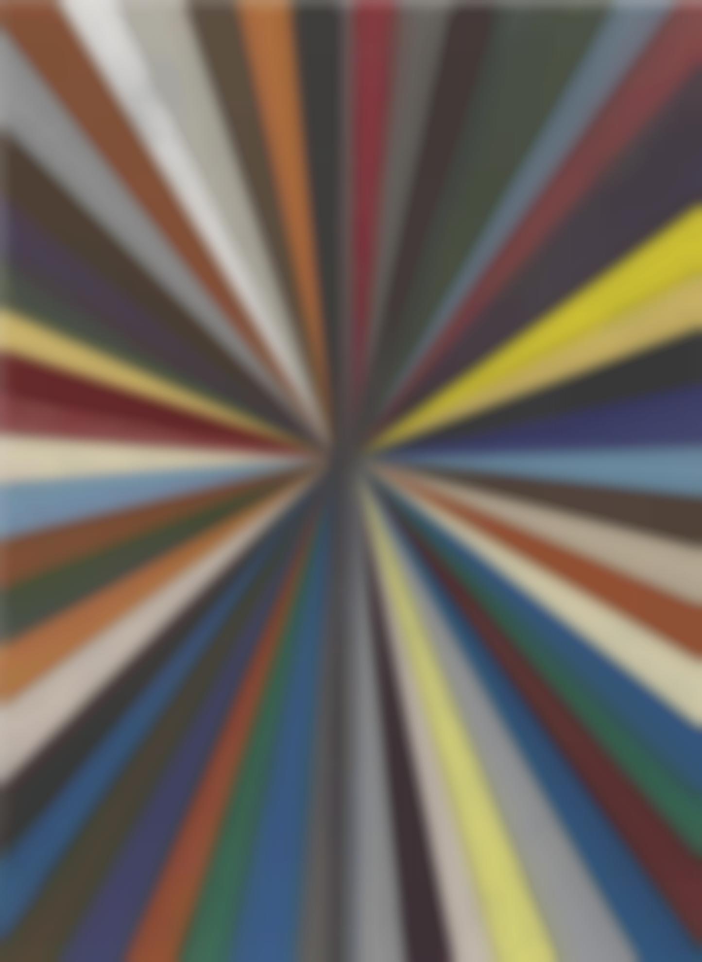 Mark Grotjahn-Untitled (Full Color Butterfly 866)-2010