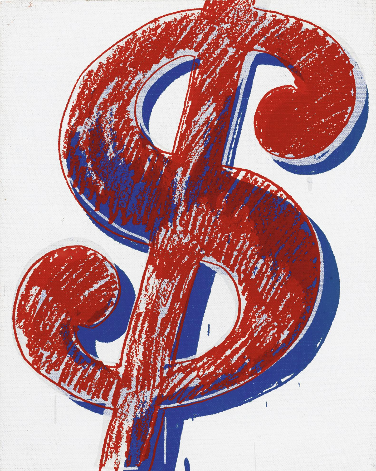 Andy Warhol-Dollar Sign-1982