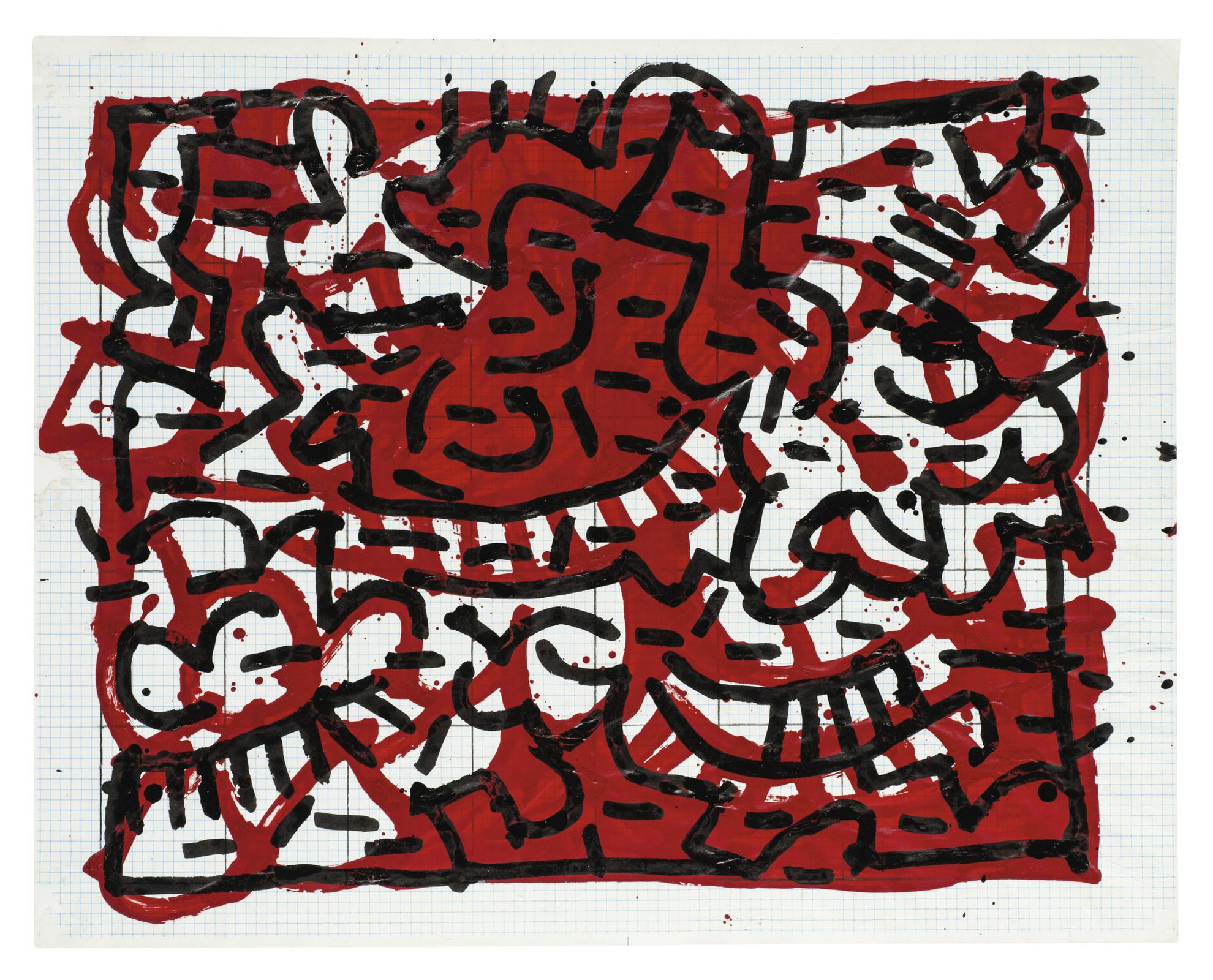 Keith Haring-Untitled-1979