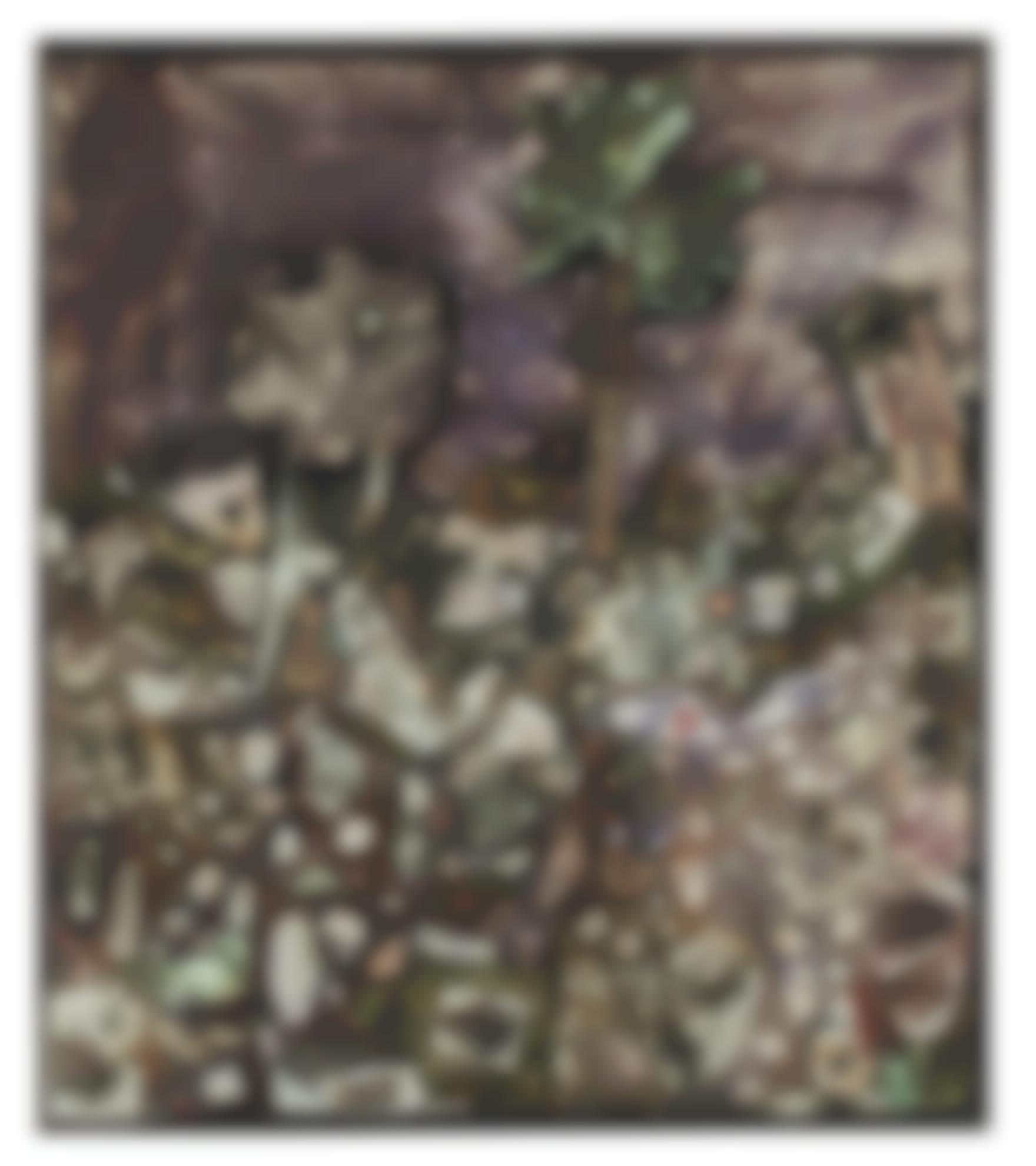 Jean Dubuffet-Paysage Aux 3 Arbres-1956