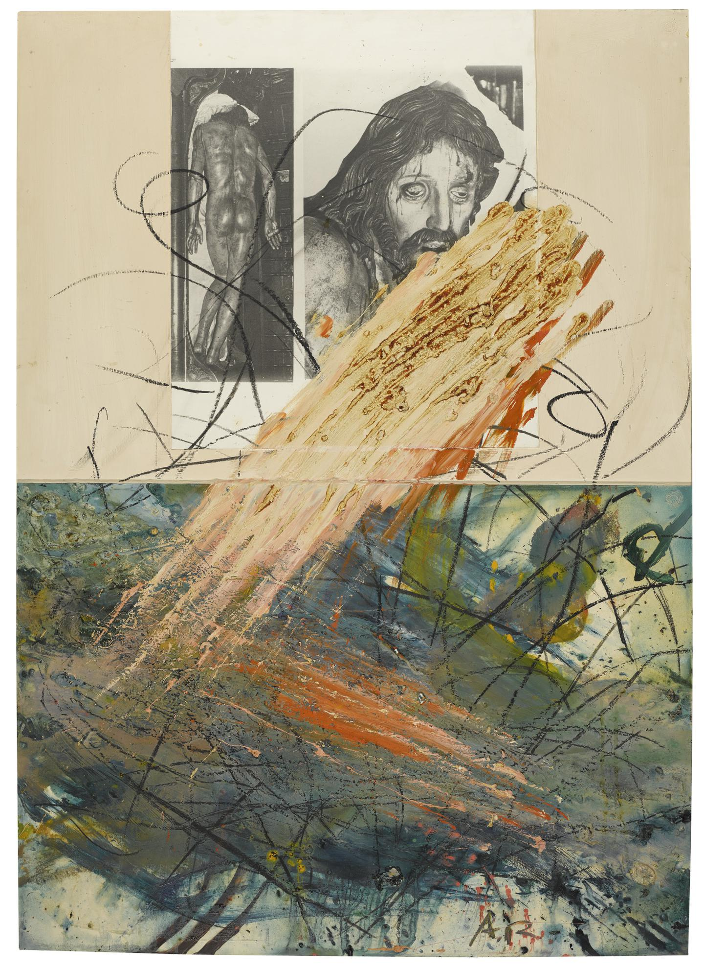 Arnulf Rainer-Untitled-1984