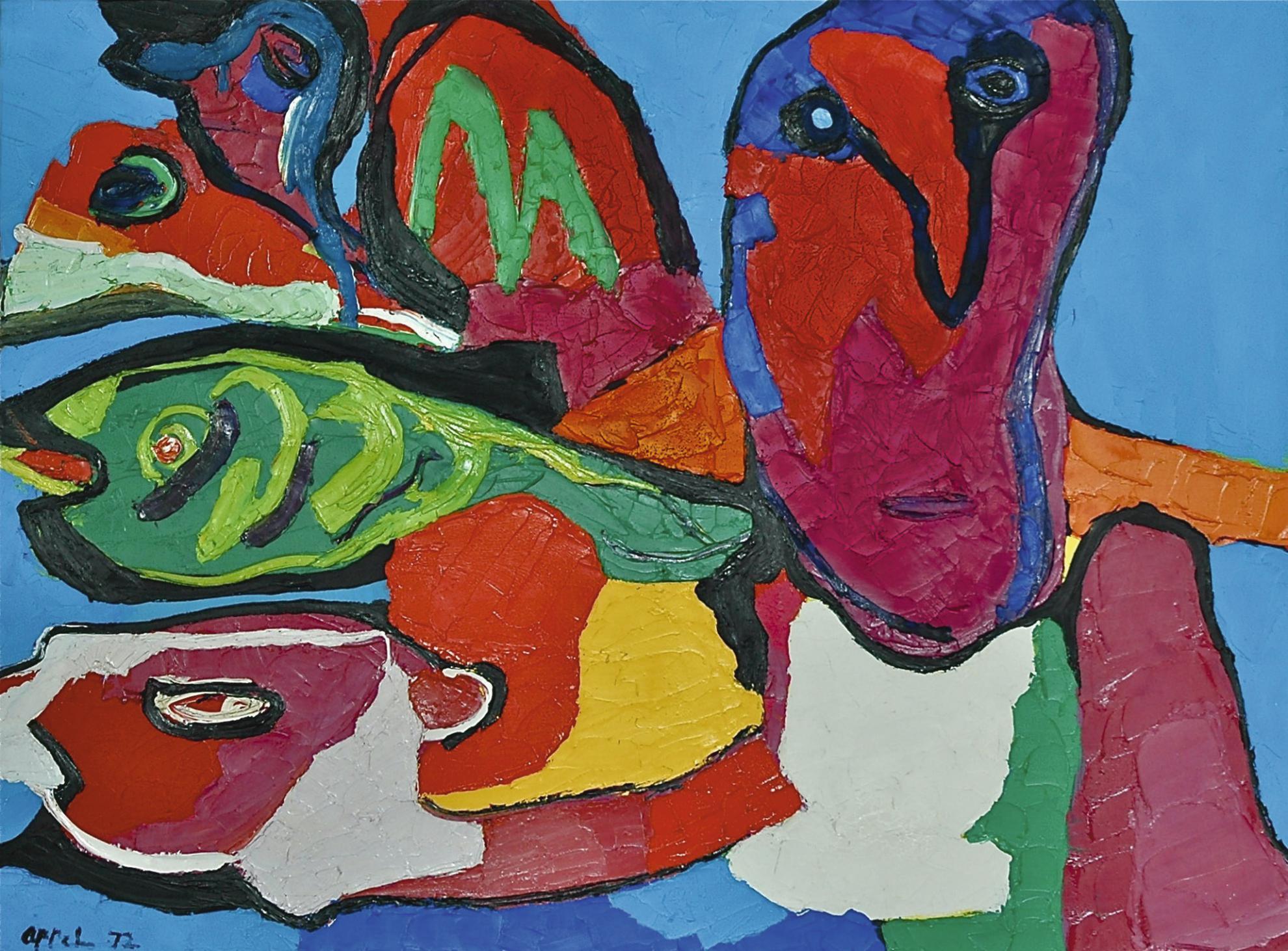 Karel Appel-Untitled-1972