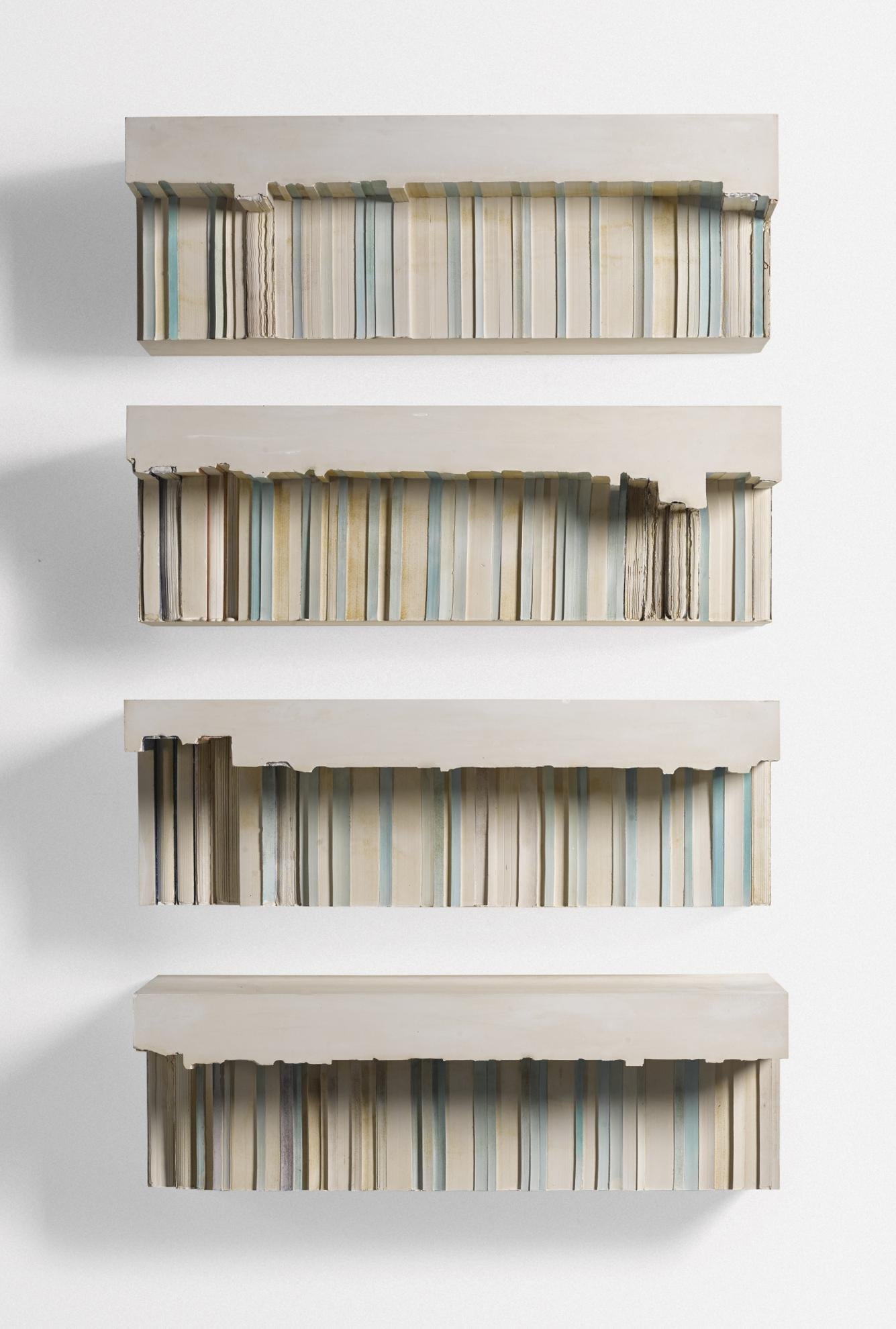 Rachel Whiteread-Untitled (Blue And Green.1)-2000