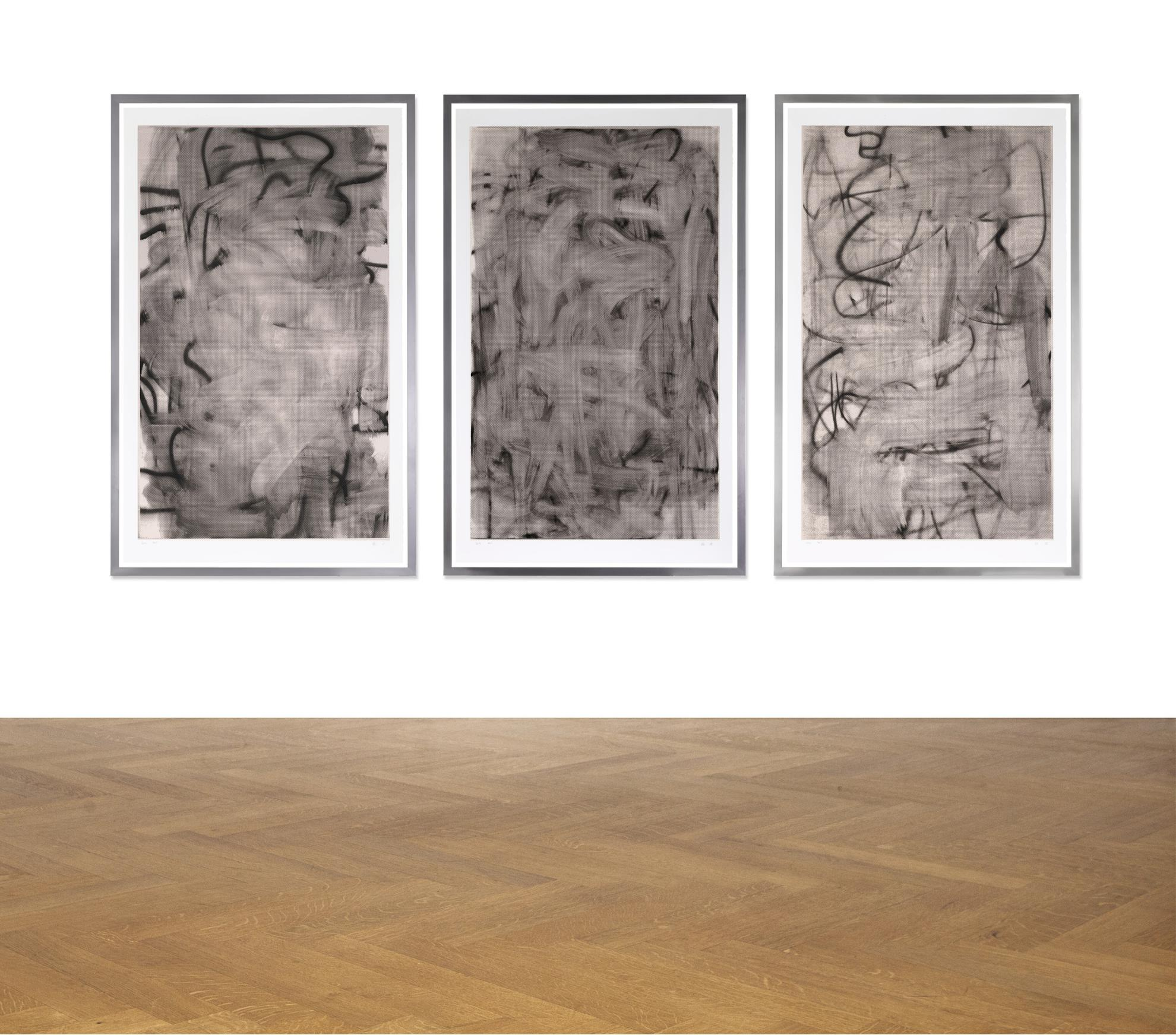 Christopher Wool-(i) Three Women I; (ii) Three Women II (iii) Three Women III-2006