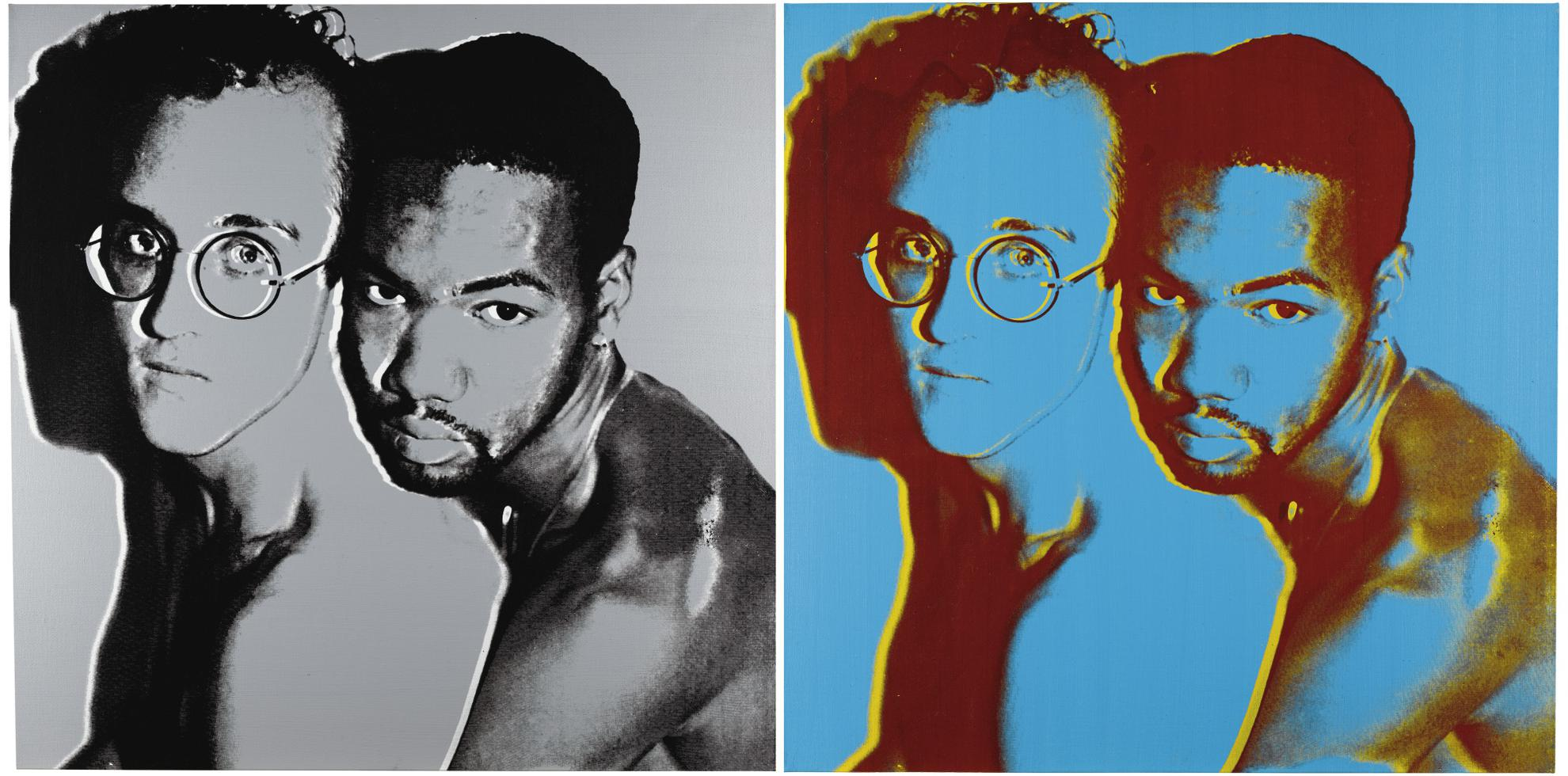 Andy Warhol-Keith Haring And Juan Dubose-1983
