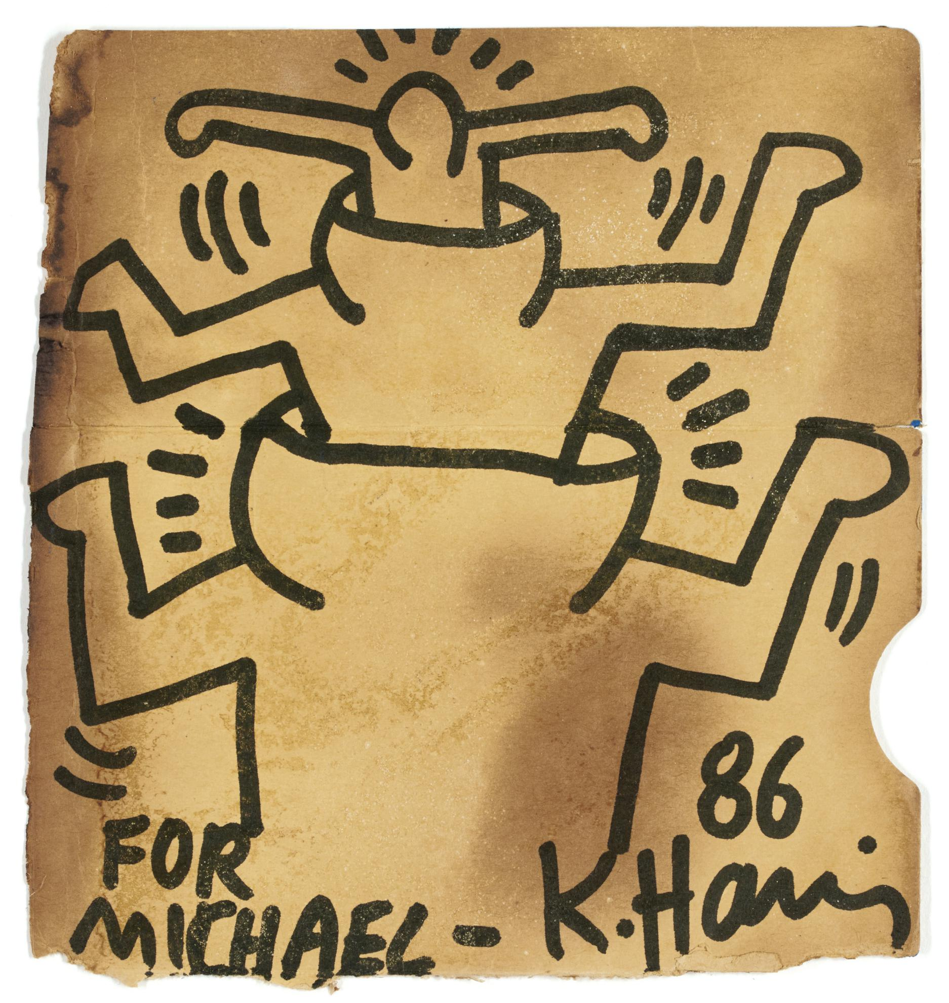 Keith Haring-Untitled-1986