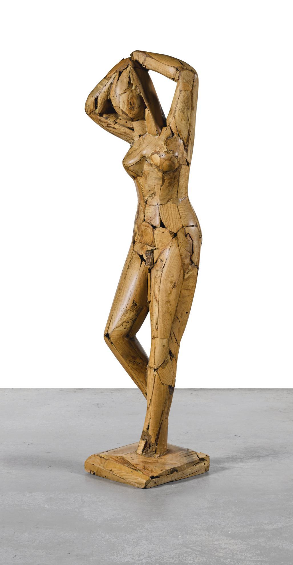 Manolo Valdes-Desnudo De Mujer (Female Nude)-1989