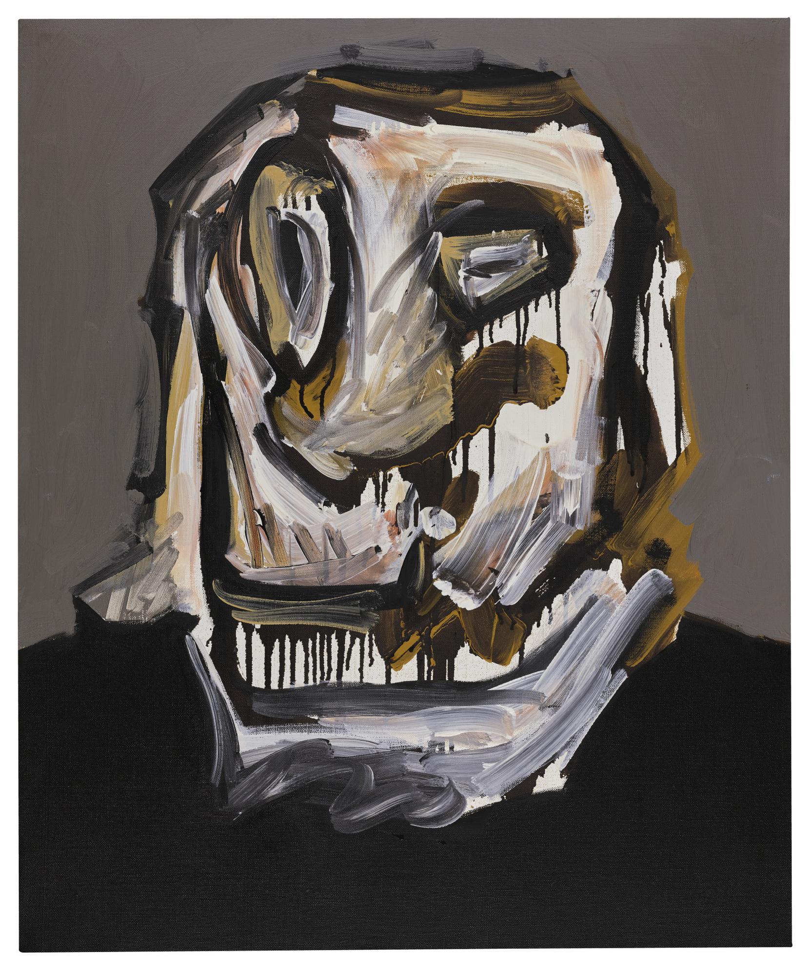 Antonio Saura-Portrait N.1.81-1981